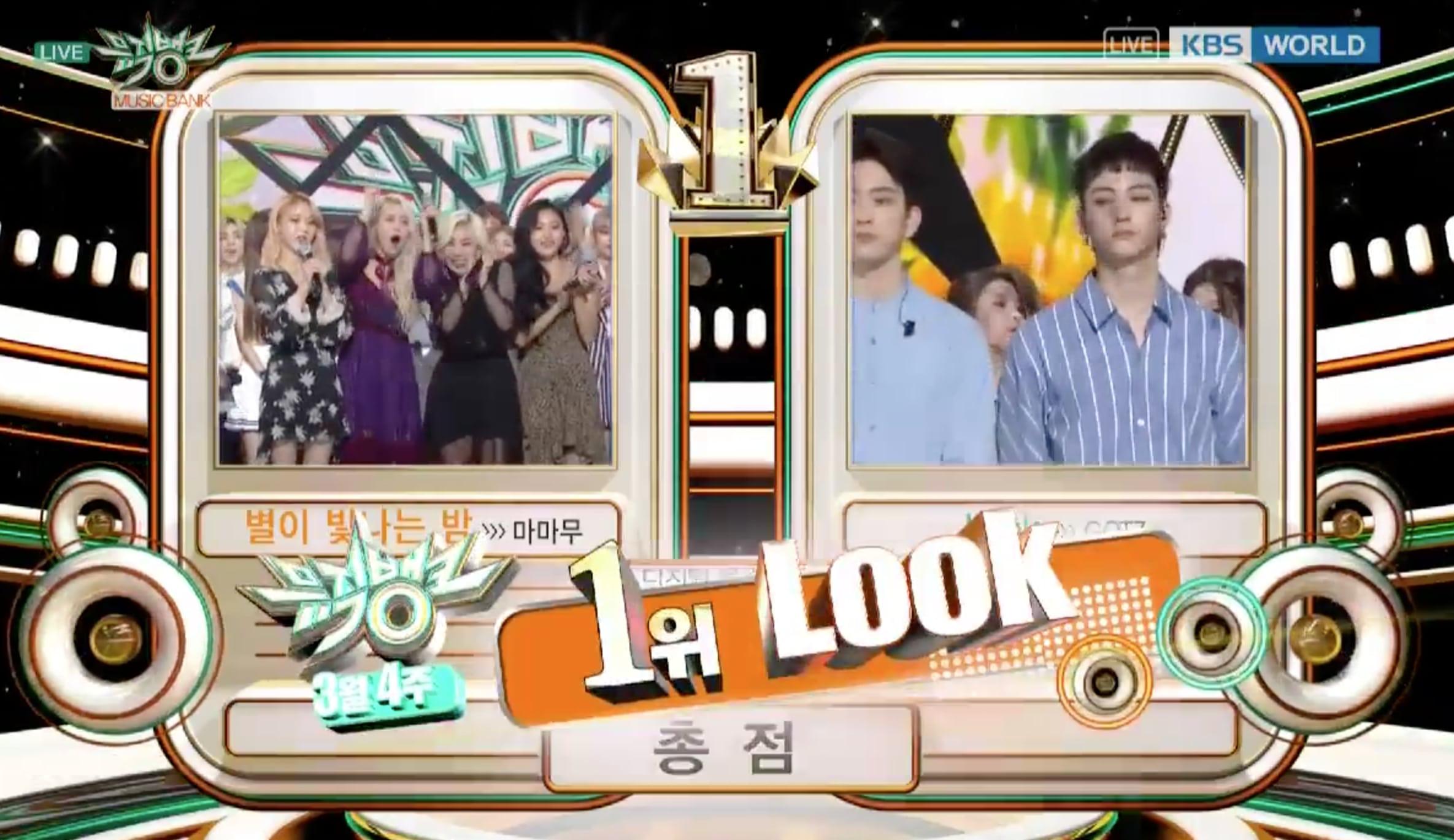 """GOT7 consigue su primera victoria para """"Look"""" en """"Music Bank"""""""