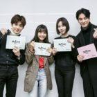 """Suho de EXO, Ha Yeon Soo y más se reúnen para leer el guión de """"Rich Man"""""""