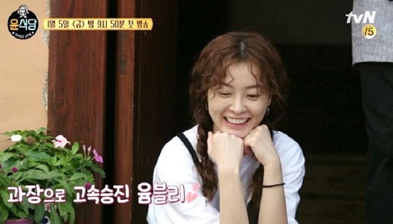 """Jung Yoo Mi comparte fotos y opinión sobre """"Youn's Kitchen 2"""""""