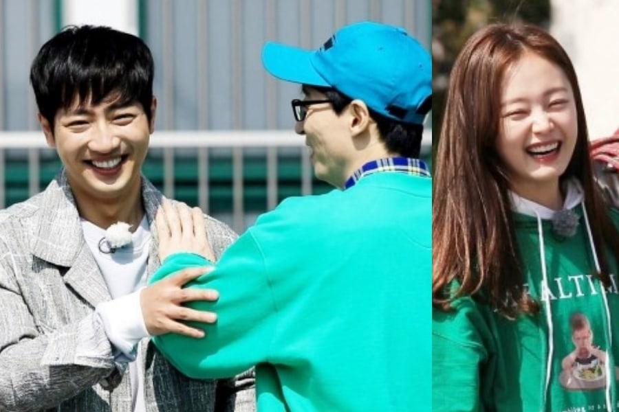 "Lee Sang Yeob y Yoo Jae Suk se pelean por Jun So Min en ""Running Man"""