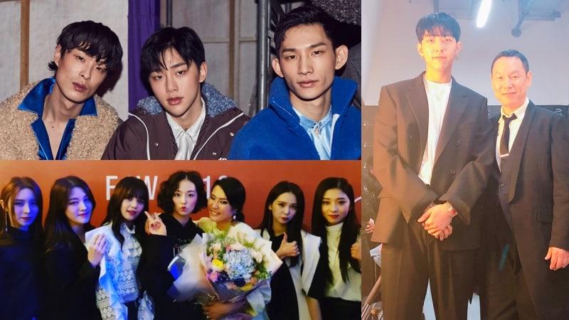 Idols toman la pasarela de la Semana de la Moda de Seúl Primera-Verano 2018