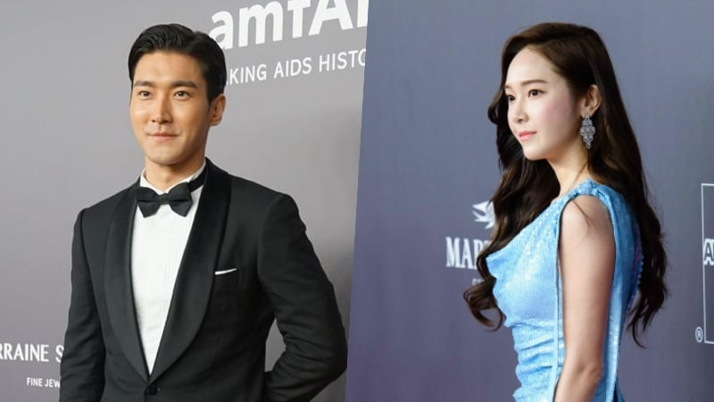 Los antiguos compañeros de sello Choi Siwon y Jessica se reúnen en un evento benéfico en Hong Kong