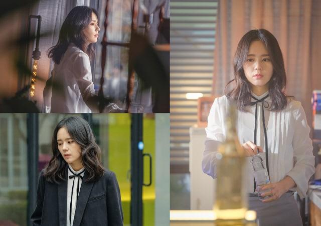 """Han Ga In está perdida en sus pensamientos en las primeras fotos de su nuevo drama """"Mistress"""""""