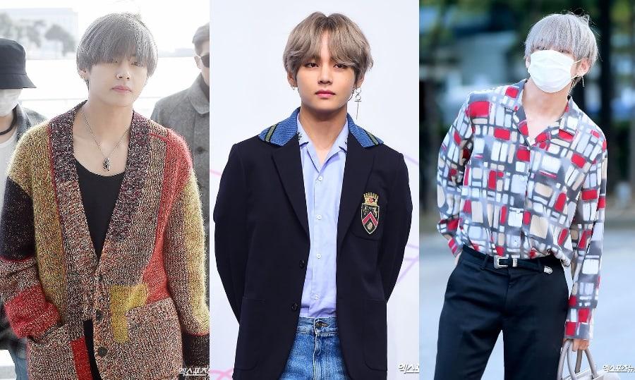 9 estilos de moda que V de BTS luce sin esfuerzo