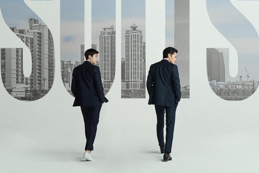 "Remake coreano de ""Suits"" publica elegantes teasers para Park Hyung Sik y Jang Dong Gun"