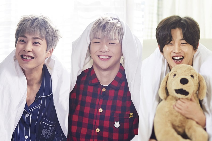 "Los miembros del reparto de ""It's Dangerous Beyond The Blankets"" son adorables personas hogareñas en teasers individuales"