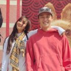 Los amigos cercanos Hyorin y Park Seo pasan el rato en Los Ángeles