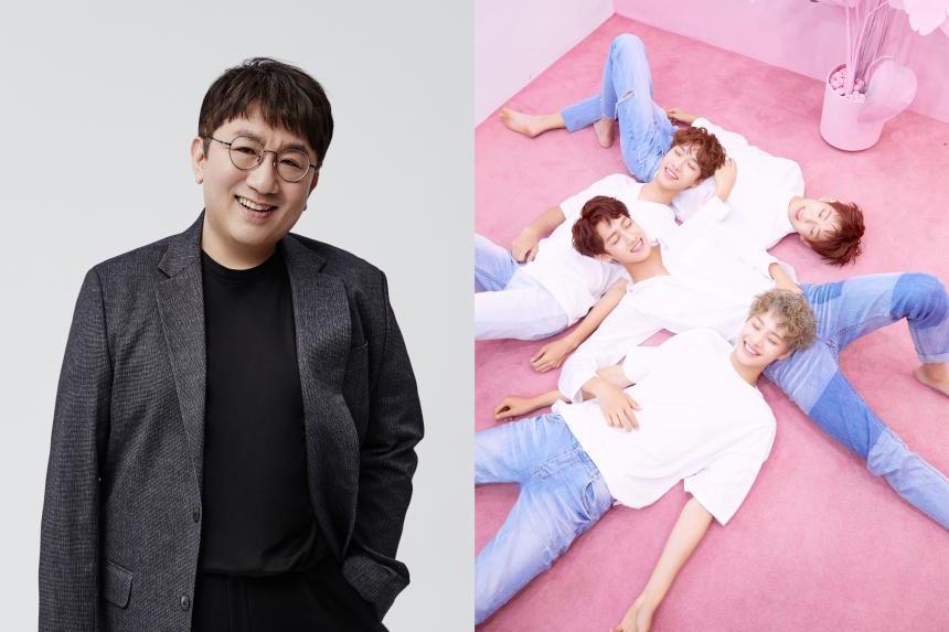Se revela que Bang Shi Hyuk ha producido la nueva pista principal del grupo de chicos IZ