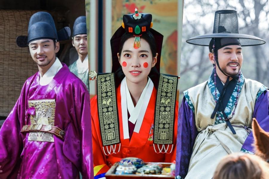 """El elenco de """"Grand Prince"""" no puede dejar de sonreír en detrás de cámaras"""