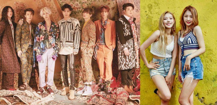 """Somin y Jiwoo de KARD cantarán """"Lo Siento"""" junto a Super Junior en el escenario"""