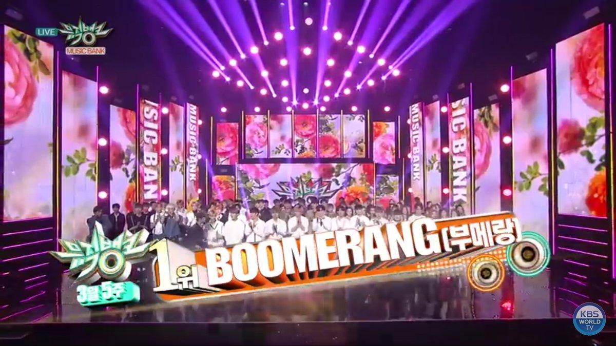 """Wanna One obtiene octava victoria con """"Boomerang"""" en """"Music Bank"""" – Presentaciones de PENTAGON, Stray Kids, EXID y más"""