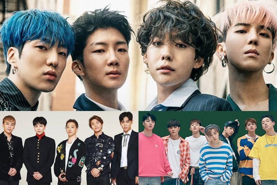 Los miembros de WINNER hablan sobre la familia YG y el éxito de sus compañeros de agencia iKON y BIGBANG