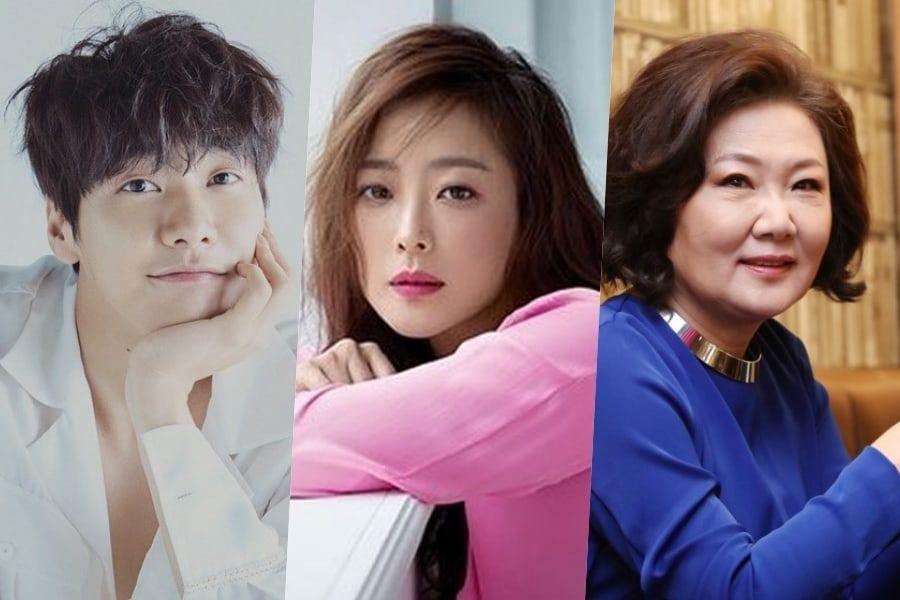 [Actualizado] Kim Young Kwang y Kim Hae Sook se unen a Kim Hee Sun para el próximo drama de tvN