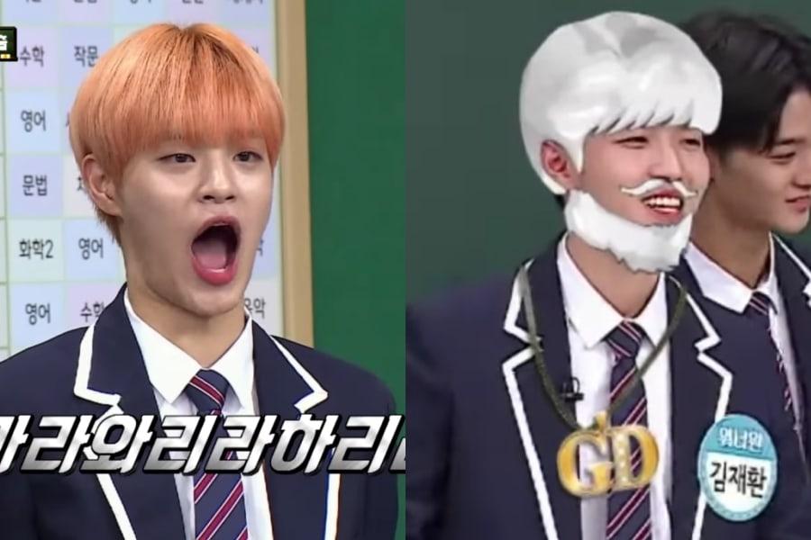 Lee Dae Hwi y Kim Jae Hwan de Wanna One hacen reír con impresiones erróneas de Lee Sang Min y G-Dragon