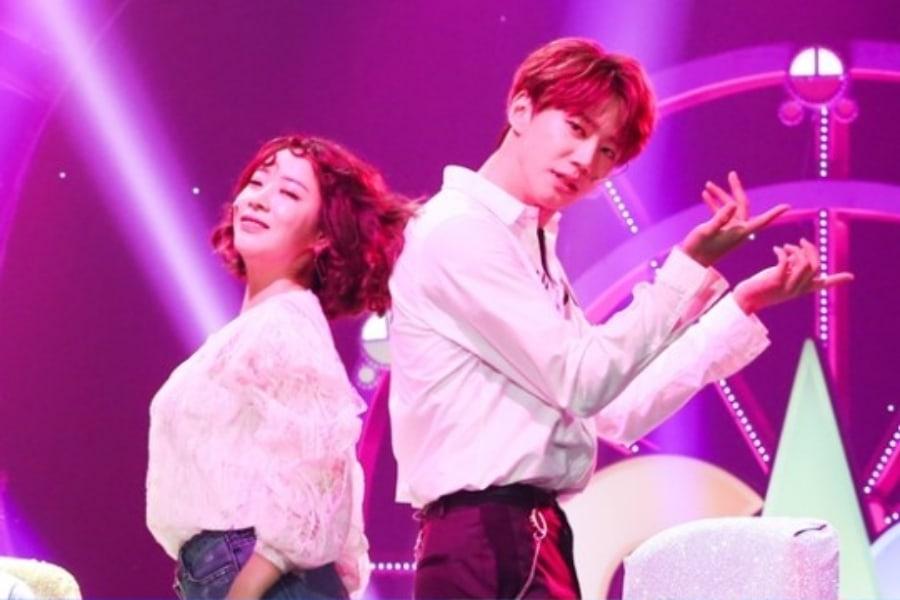 "Jun de UNB baila ""Trouble Maker"" y recrea escena de ""Descendants Of The Sun"" en ""Gag Concert"""