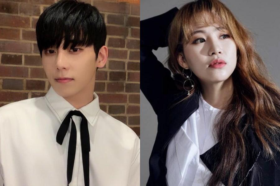 Chaejin de MYNAME se disculpa en una carta escrita a mano sobre los rumores de citas con Jo Hyun Ah