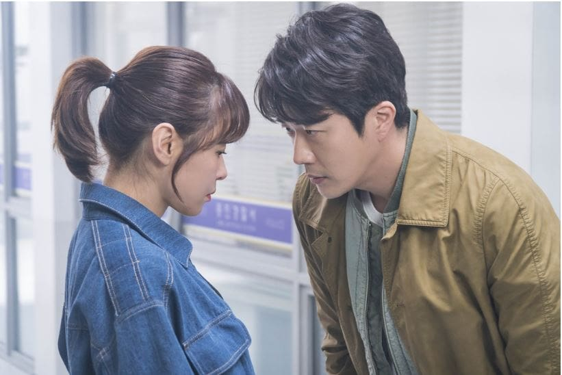 "Kwon Sang Woo y Choi Kang Hee hacen contacto visual cercano en ""Mystery Queen 2"""