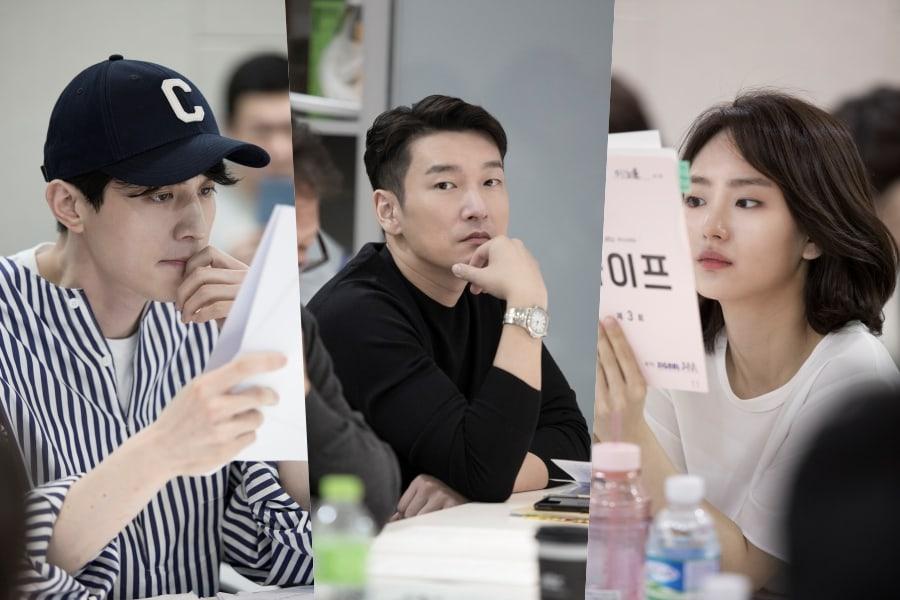 """Lee Dong Wook, Cho Seung Woo, Won Jin Ah y el elenco de """"Life"""" realizan primera lectura de guión"""