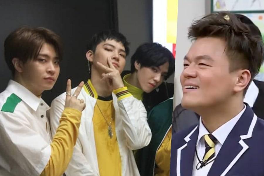 GOT7 revela cómo es trabajar en música con Park Jin Young