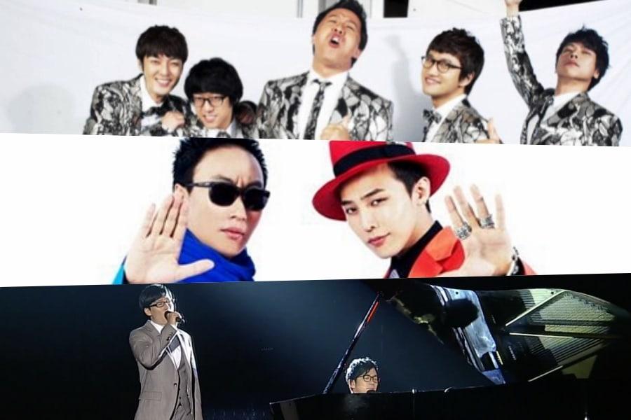 """El reparto y el productor Kim Tae Ho eligen las canciones más memorables de festivales de """"Infinite Challenge"""""""