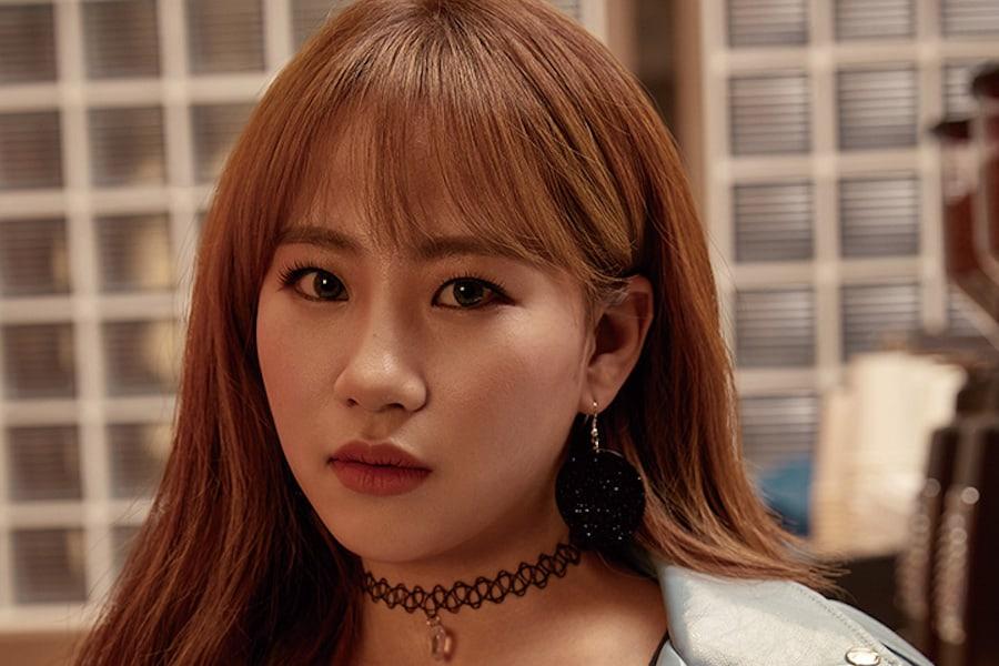 Jo Hyun Ah habla sobre los rumores de relación con Chaejin de MYNAME