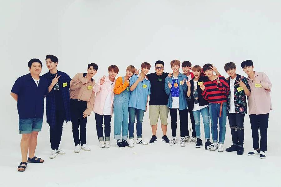 Se confirma que Wanna One serán los primeros invitados del nuevo programa de ídolos de Jung Hyung Don y Defconn