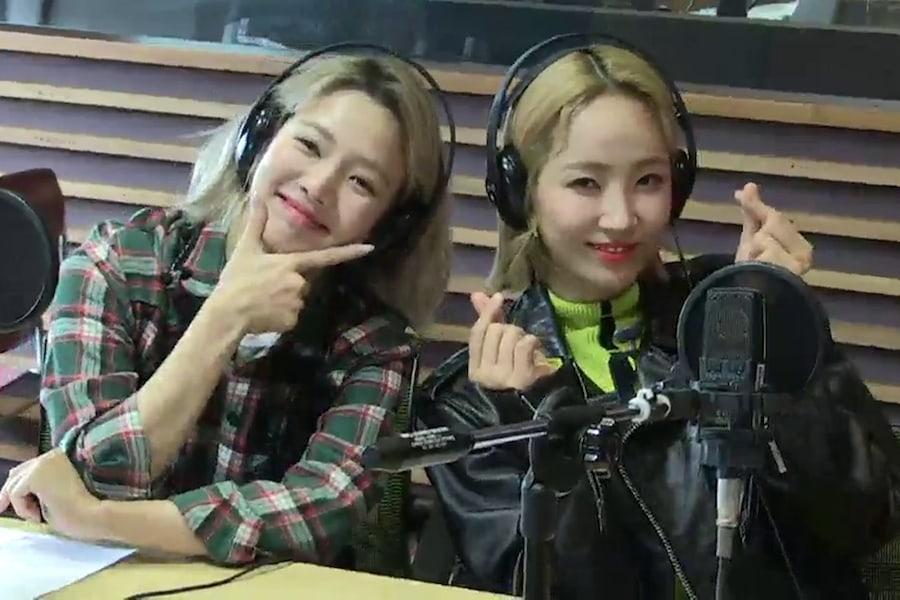 """Hyoyeon y HA:TFELT (Yeeun) tienen una reunión """"Wonder Generation"""" en un programa de radio"""