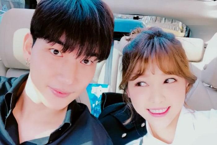 La novia de Noh Ji Hoon anuncia su compromiso y embarazo y comparte unas bonitas fotos