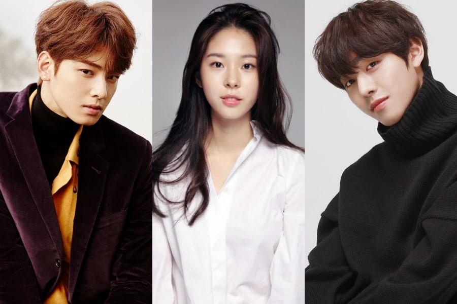 [Actualizado] Cha Eun Woo de ASTRO, Seo Eun Soo y Ahn Hyo Seop confirmados para nuevo drama web