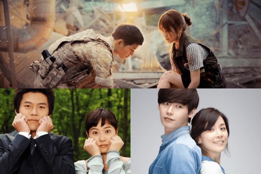 Los coreanos nombran a su pareja favorita de drama con gran diferencia de edad