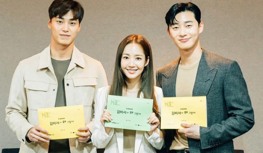 Lee Tae Hwan, Park Min Young, Park Seo Joon, y otros se reúnen para primera lectura de guión de nuevo drama tvN