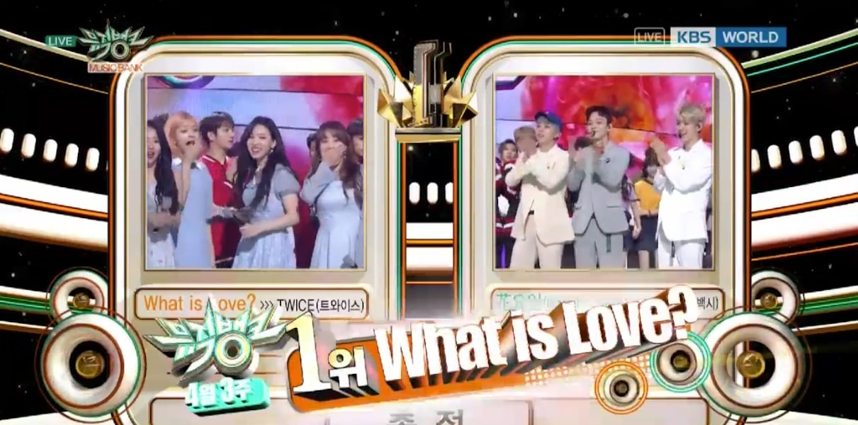 "TWICE obtiene tercera victoria para ""What Is Love?"" en ""Music Bank"" – Presentaciones de NCT 2018, VIXX, The Rose y más"