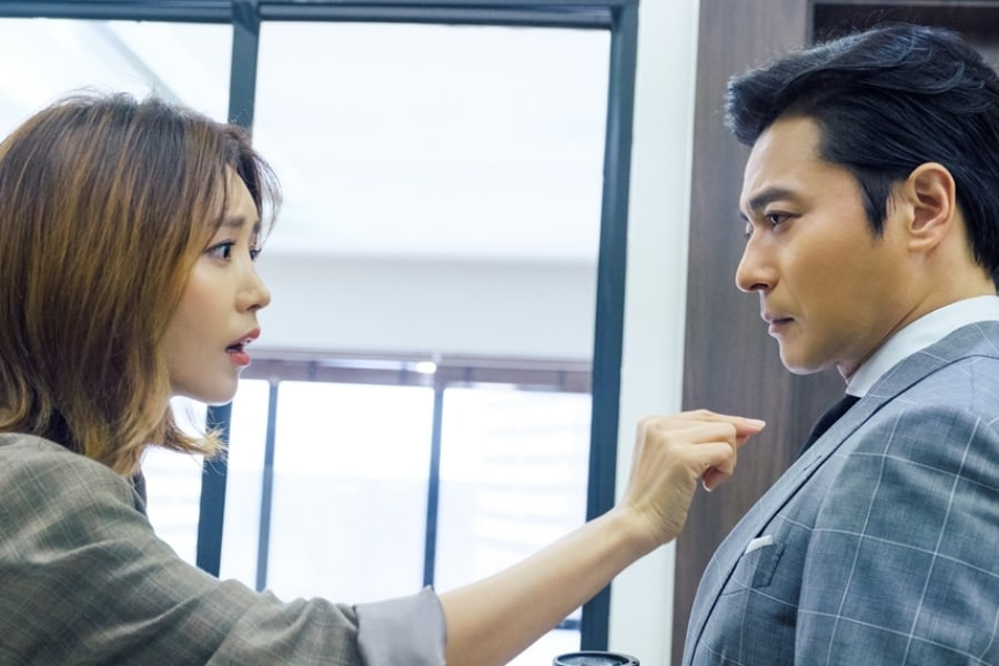 """Suits"" muestra un intenso momento entre Chae Jung An y Jang Dong Gun"