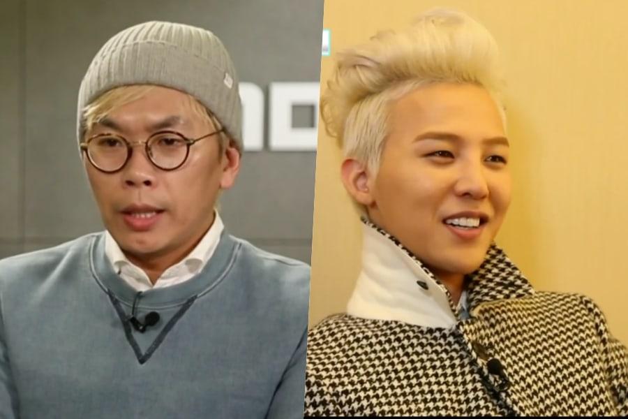 "PD Kim Tae Ho de ""Infinite Challenge"" expresa su agradecimiento a G-Dragon de BIGBANG"