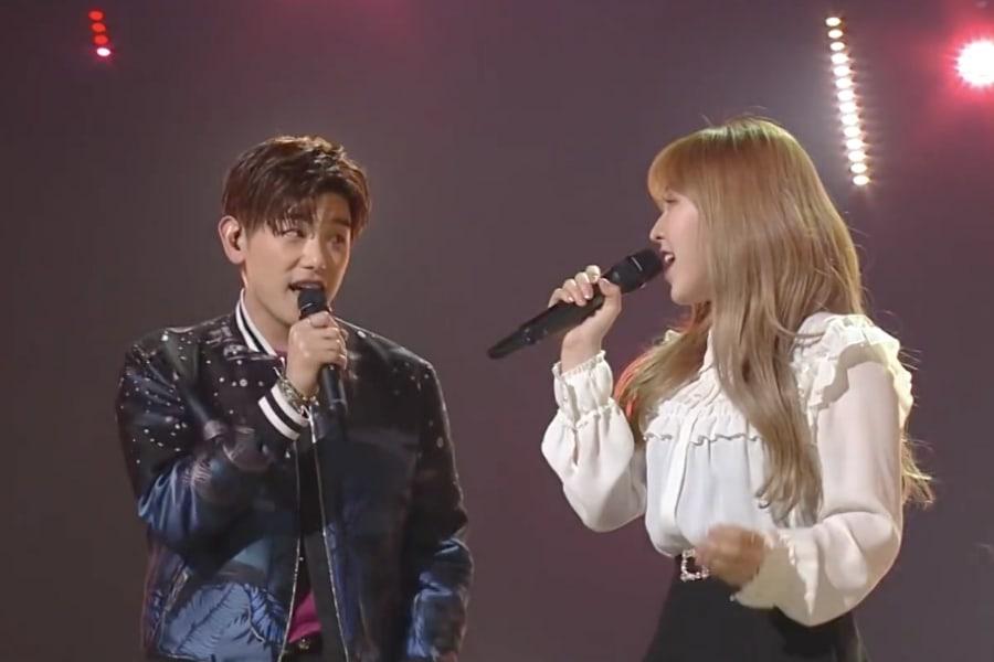 """Eric Nam y Wendy de Red Velvet cantan """"Spring Love"""" y sus canciones favoritas de ruptura en vivo"""