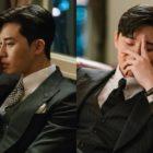 Park Seo Joon se viste con terno para la primera grabación de la nueva comedia romántica de tvN