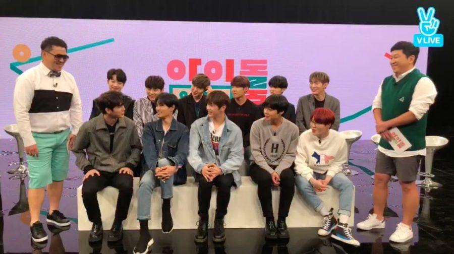 Jung Hyung Don y Defconn inician un nuevo programa de variedades con Wanna One compartiendo secretos en directo