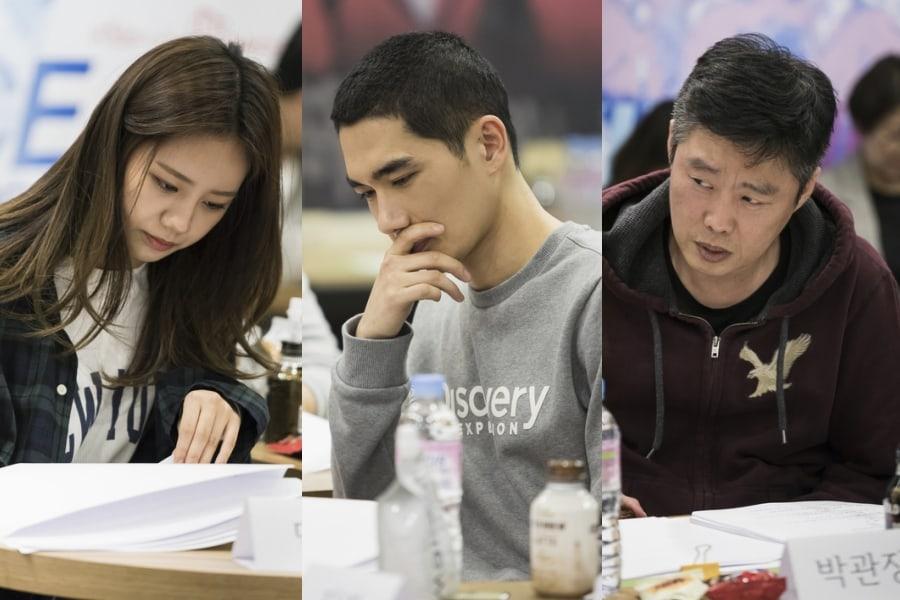 Hyeri de Girl's Day, Uhm Tae Goo y Kim Hee Won realizan la lectura de guión de nueva película