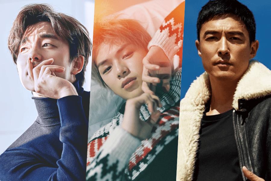 Se revela el ranking de reputación de marca para modelos de publicidad masculinos para el mes de abril