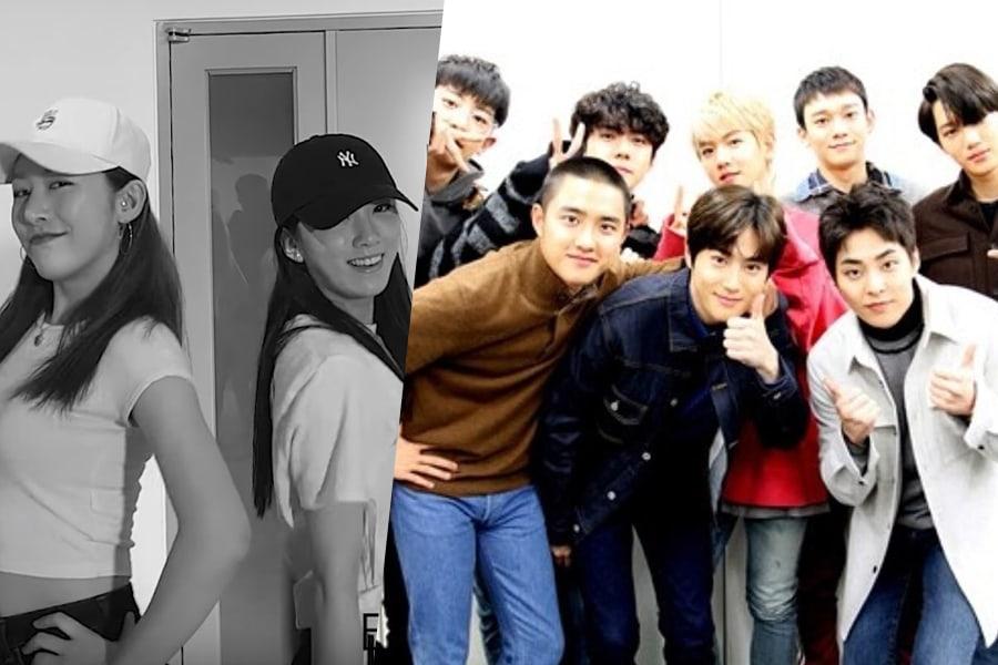 Euijin y Lee Suji de UNI.T muestran amor por EXO con impresionante cover de baile