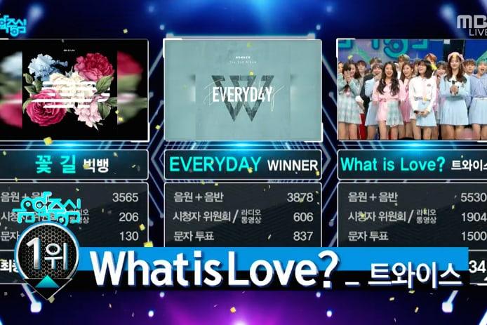 """TWICE logra su 9ª victoria por """"What Is Love?"""" en """"Music Core"""". Actuaciones de VIXX, Lovelyz y más"""