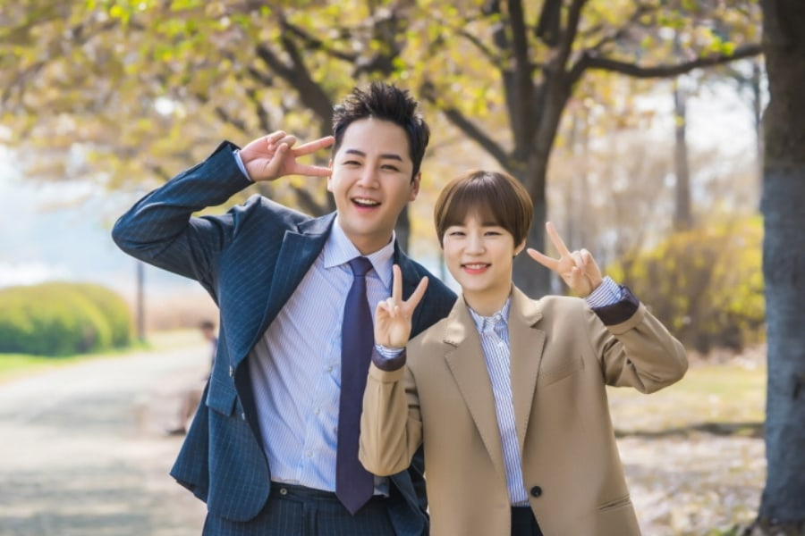 "Jang Geun Suk y Han Ye Ri derrochan química natural detrás de las cámaras de ""Switch"""