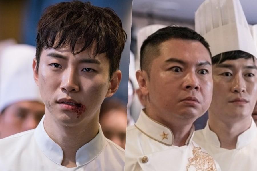 """La cara de Junho de 2PM queda arruinada a manos del celoso chef rival Im Won Hee en """"Wok Of Love"""""""
