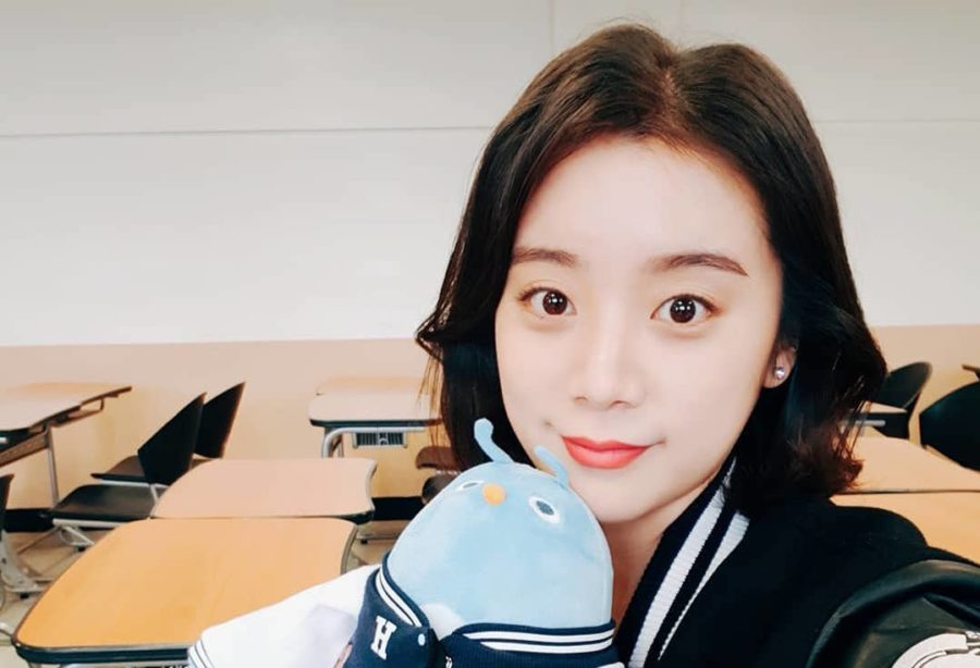 Hyelim ex-integrante de Wonder Girls tiene un nuevo trabajo en el periódico de su universidad