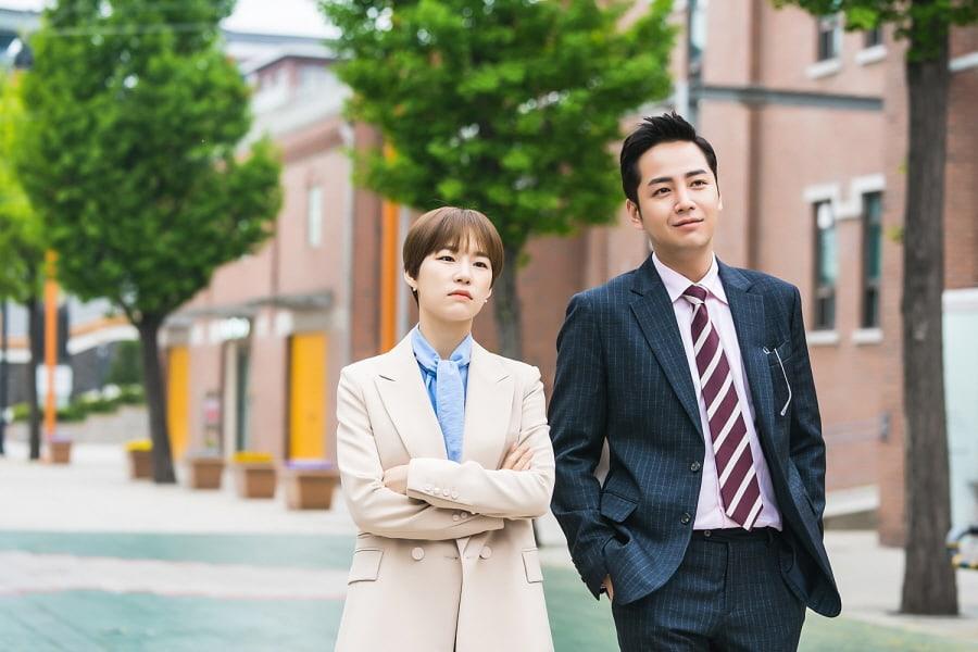 """Han Ye Ri y Jang Geun Suk muestran gran química mientras sus personajes se hacen cercanos en """"Switch"""""""