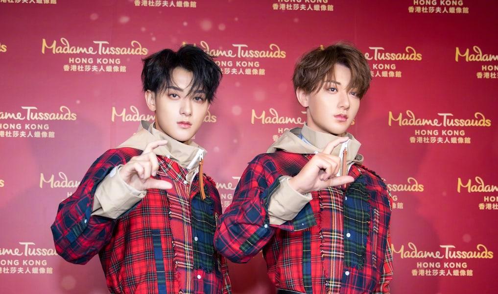 Tao es el hermano gemelo de su figura de cera en Madame Tussauds