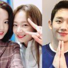 Jun So Min y Kang Han Na no pueden parar de hablar de Jung Hae In