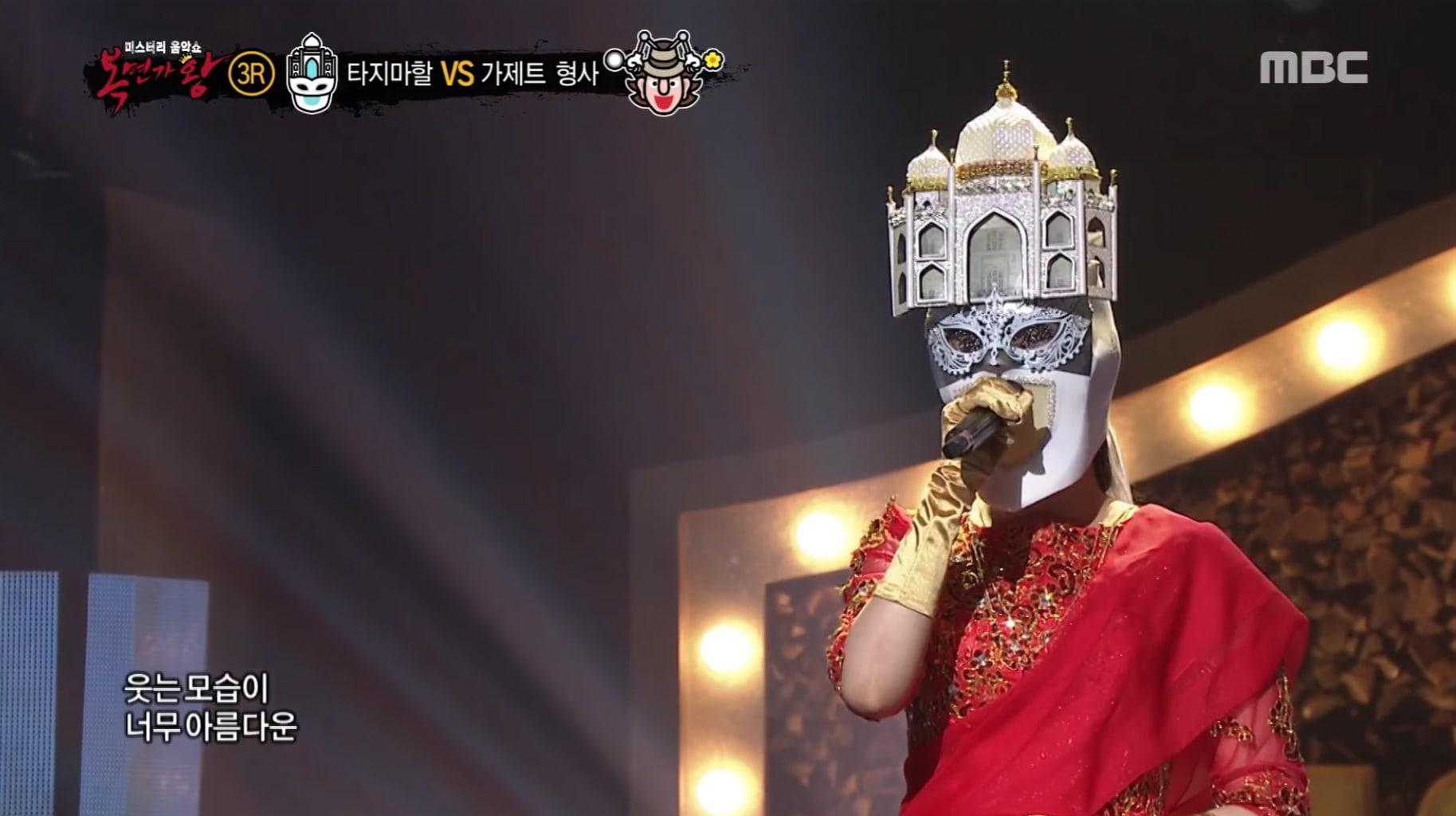 """Vocalista principal de grupo femenino impresiona al campeón de """"King Of Masked Singer"""" con emotiva voz"""