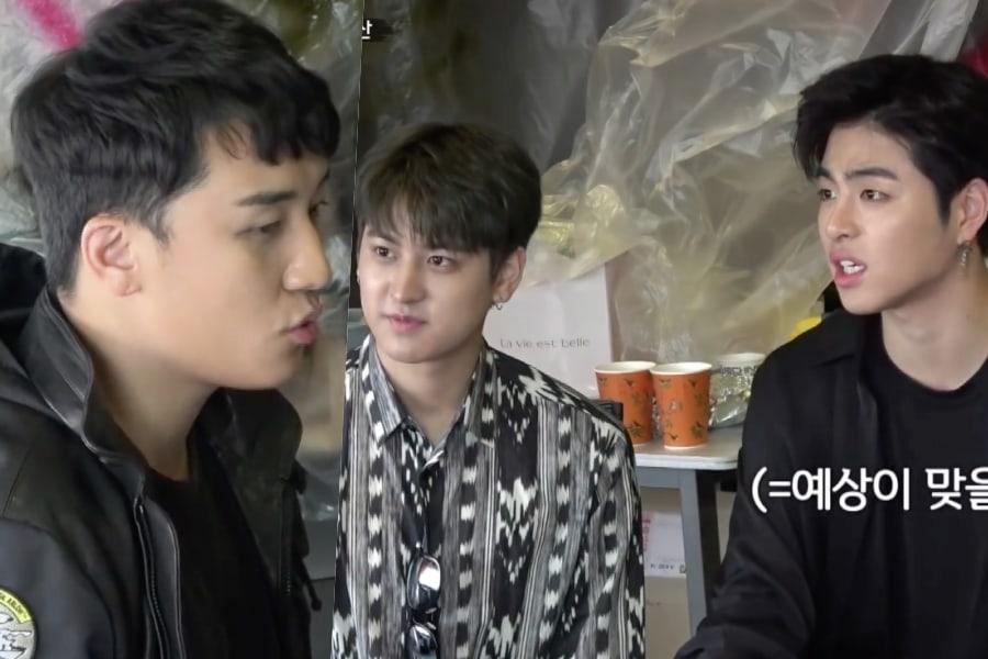 iKON trabaja en la tienda de ramen de Seungri de BIGBANG por un día