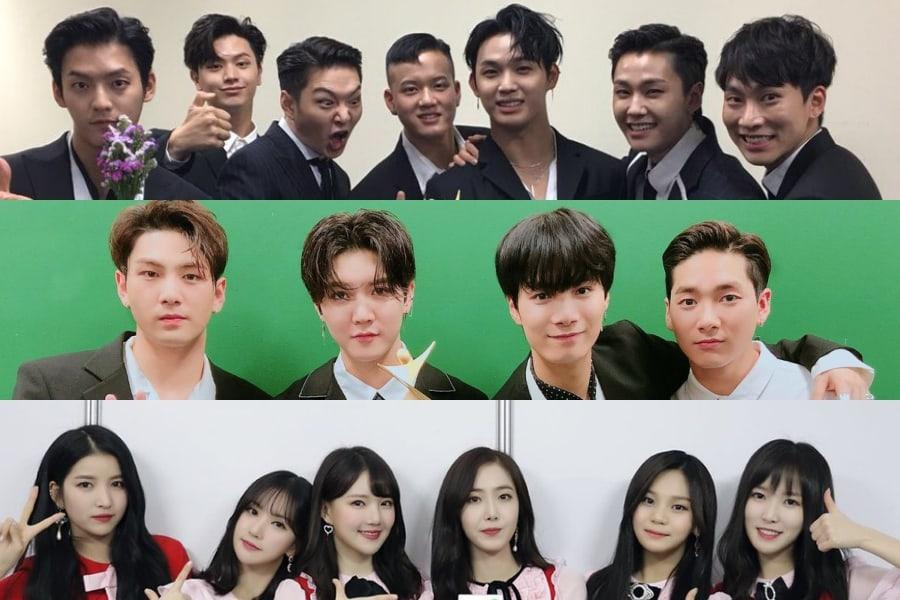 BTOB, NU'EST W, GFRIEND, y más ganan en los 2018 Asia Model Awards
